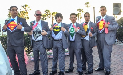 superhero wedding